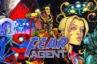 Fear Agent: GM Screen & Adventure Book