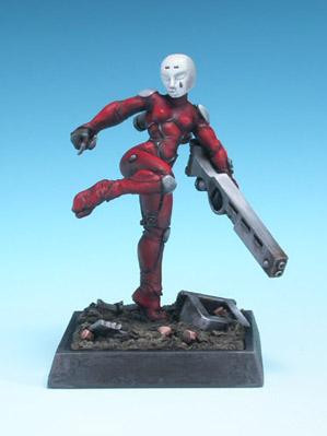 Freebooter Miniatures: Female Assassin