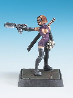 Freebooter Miniatures: Female Widow