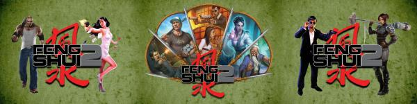 Feng Shui 2: A Fistful of Fight Scenes Game Masters Screen