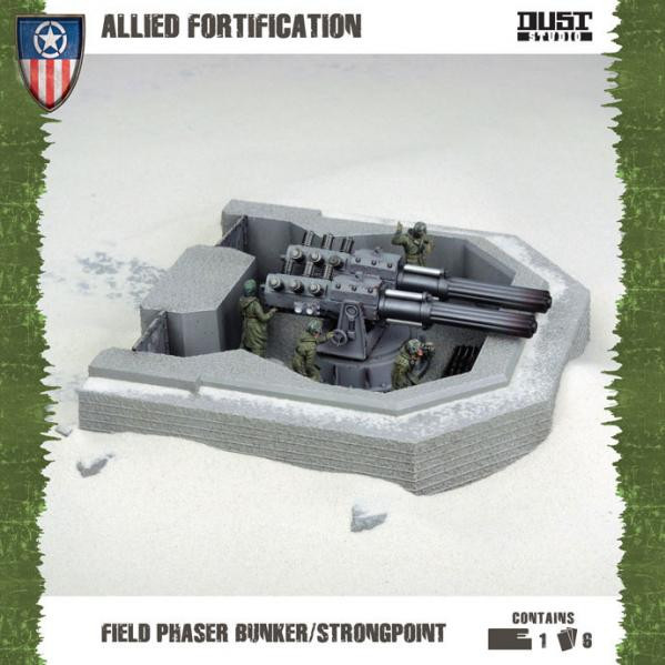Dust Tactics/ Warfare: Allied: Field Phaser Bunker/Strongpoint