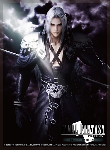 Final Fantasy: DISSIDIA SEPHIROTH- Card Sleeves (60)