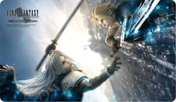 Final Fantasy VII: Advent Children: Cloud and Sephiroth- Playmat