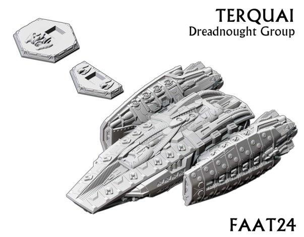 Firestorm Armada: Kurak Alliance Terquai Dreadnought Group