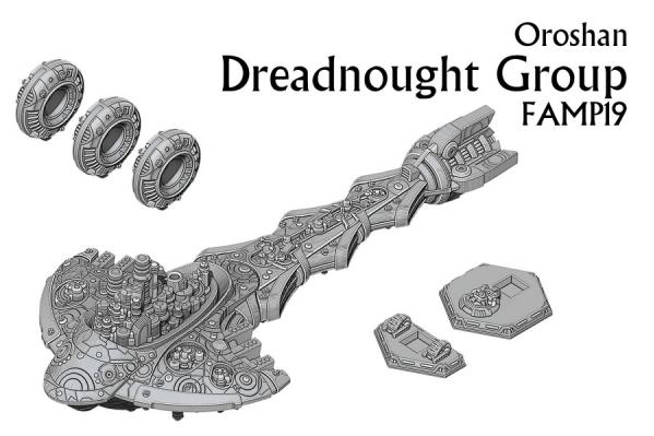 Firestorm Armada: Oroshan Dreadnought Group