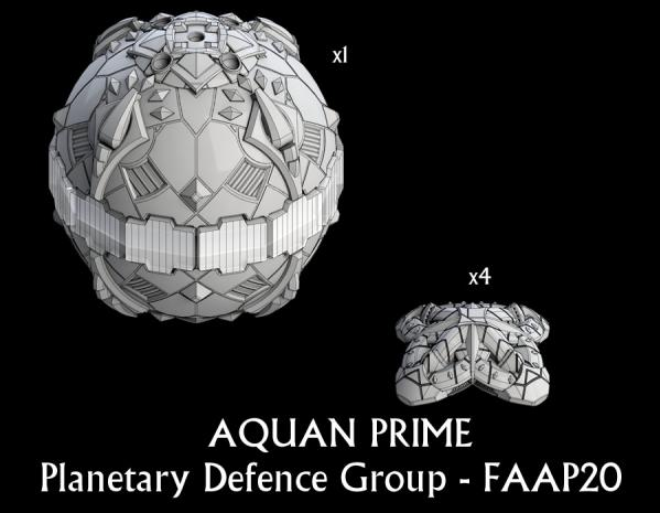 Firestorm Armada: Aquan Planetary Defense Group