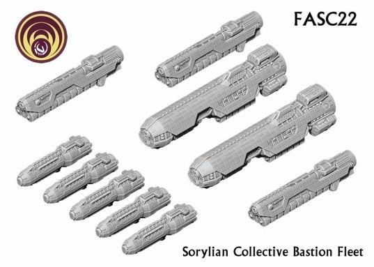 Firestorm Armada: Sorylian Bastion Fleet