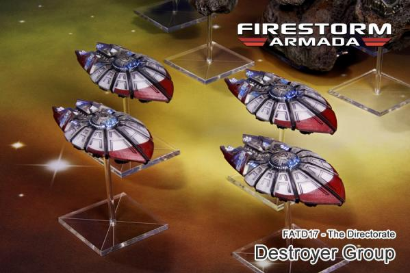 Firestorm Armada: The Directorate Destroyer Group