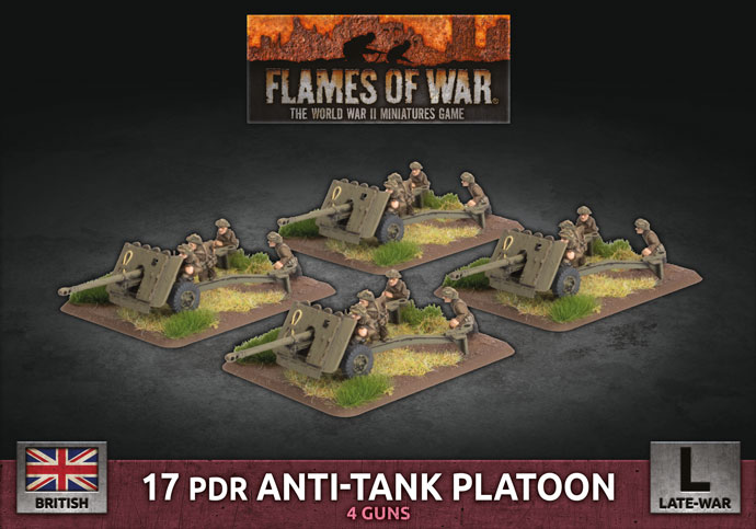 Flames of War: British: 17 pdr Anti-Tank Platoon