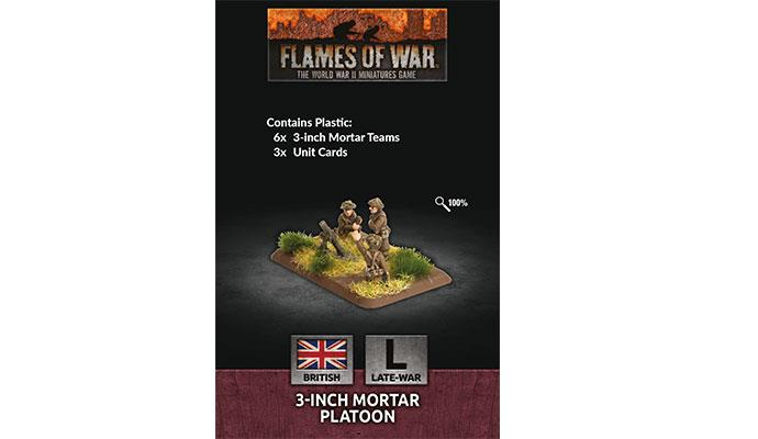 Flames of War: British: 3-inch Mortar Platoon