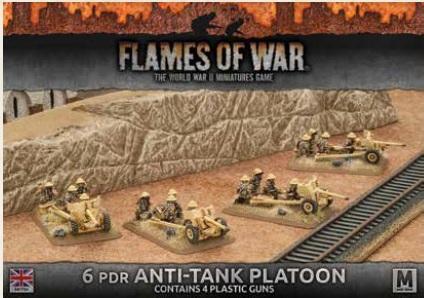 British Anti Tank Defences Flames of War compatible