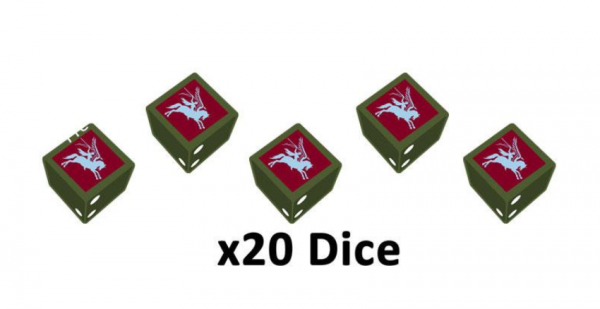 Flames of War: British: 6th Airborne Division Dice Set