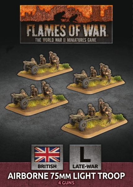 Flames of War: British: Airborne 75mm Light Troop