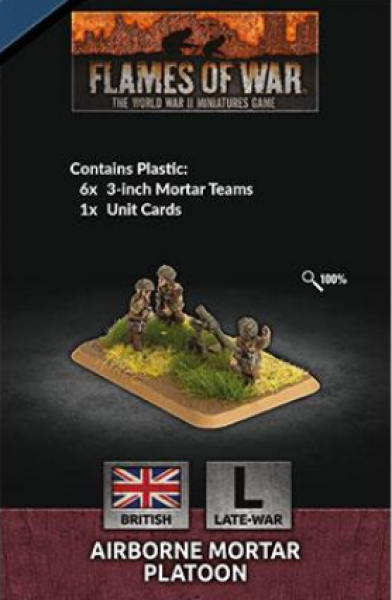 Flames of War: British: Airborne Mortar Platoon