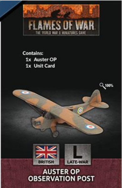 Flames of War: British: Auster OP Observation Post