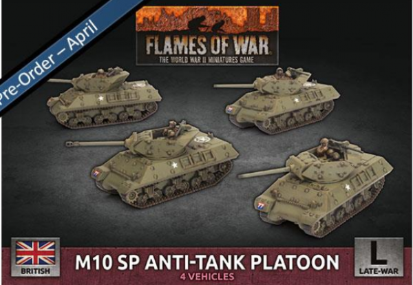 Flames of War: British: M10 SP Anti-Tank Troop