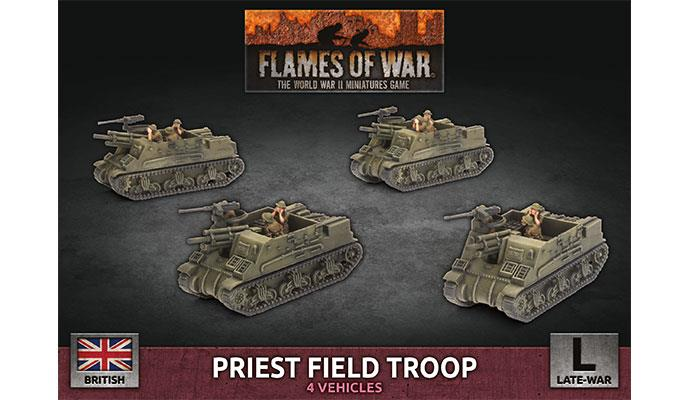 Flames of War: British: Priest Field Troop