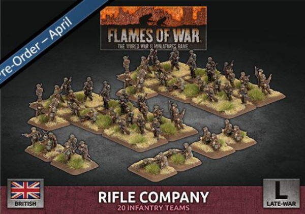 Flames of War: British: Rifle Company