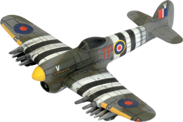 Flames of War: British: Typhoon Fighter Flight