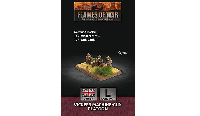 Flames of War: British: Vickers Machine-Gun Platoon