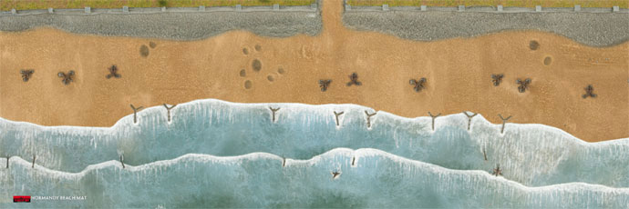 Battlefront Miniatures Flames Of War D Day Beach