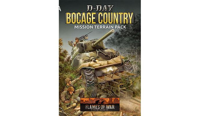 Flames of War: D-Day: Bocage Mission Terrain Pack