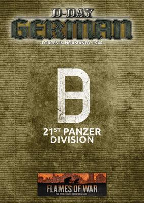 Flames of War: German: D-Day 21st Panzer