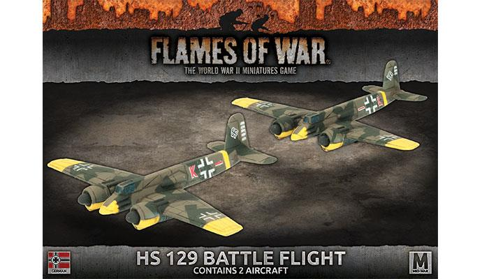 Flames of War: German: HS 129 Battle Flight