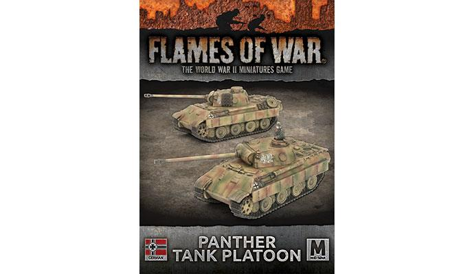 Flames of War: German: Panther Tank Platoon