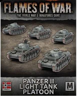 Battlefront Miniatures - Flames of War: German: Panzer II