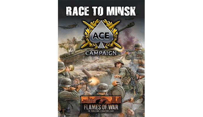 Flames of War: Race for Minsk Ace Campaign Card pack