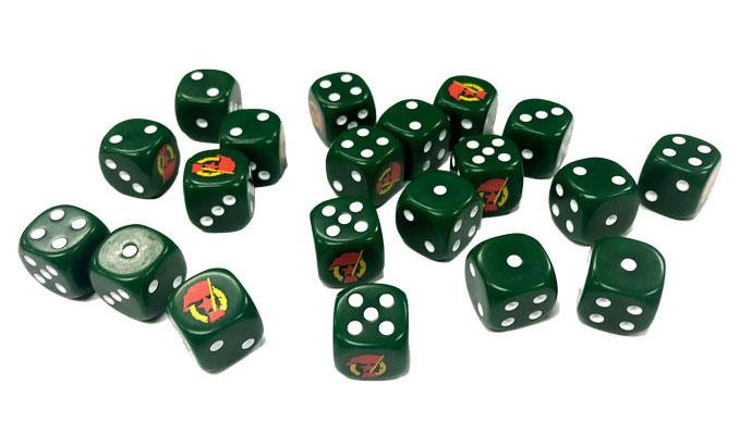 Flames of War: Soviet Guards Dice