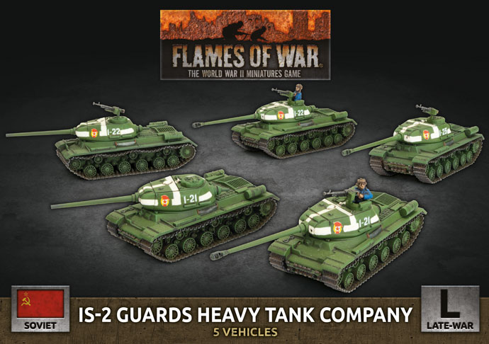 Flames of War: Soviet: IS-2 Guards Heavy Tank Company