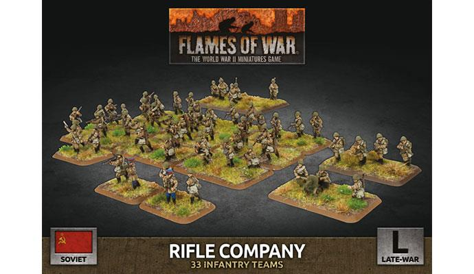 Flames of War: Soviet: Rifle Company (Plastic)
