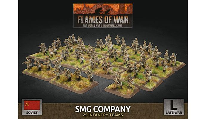 Flames of War: Soviet: SMG Company (Plastic)