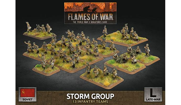 Flames of War: Soviet: Storm Group (Plastic)