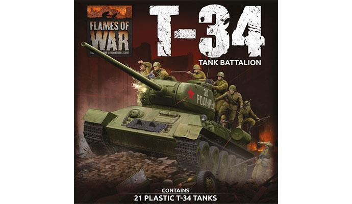 Flames of War: Soviet: T-34 Battalion Army Deal