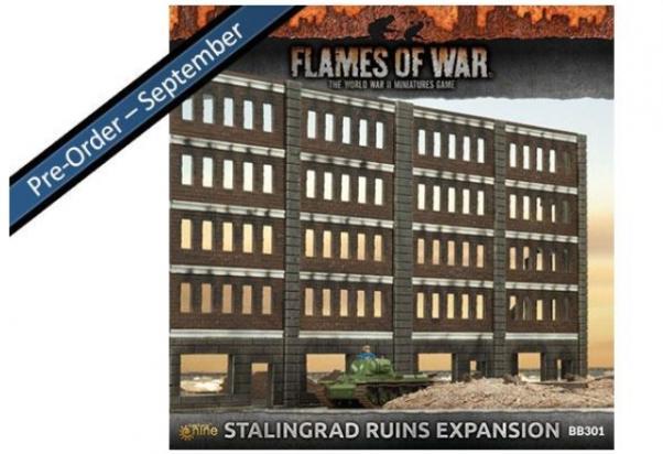 Gale Force Nine - Flames of War: Stalingrad Ruins Expansion