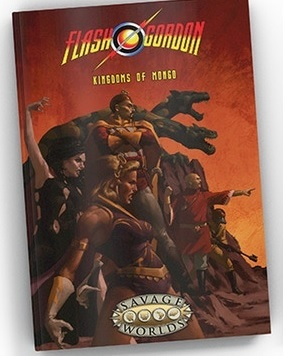 Flash Gordon RPG: Kingdoms of Mongo [Limited Edition Hardcover]
