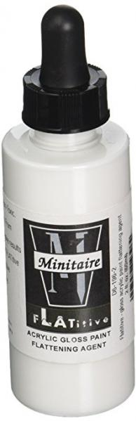 Flatitive: Gloss Acrylic Paint Flattening Agent (2oz.)
