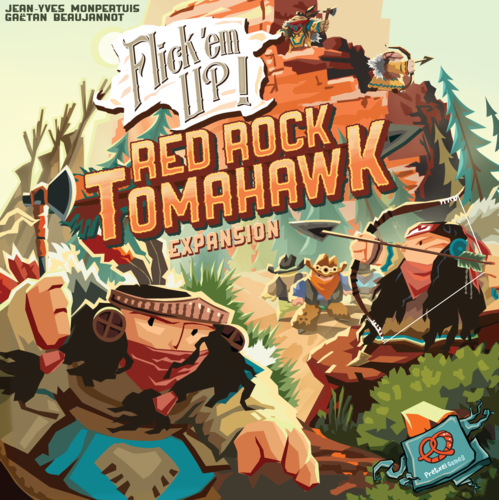 Flickem Up!: Red Rock Tomahawk (SALE)