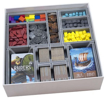 Folded Space: Board Game Organizer- Raiders of the North Sea