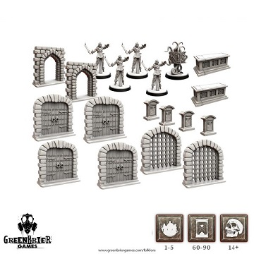 Folklore The Affliction: Terrain Miniature Pack