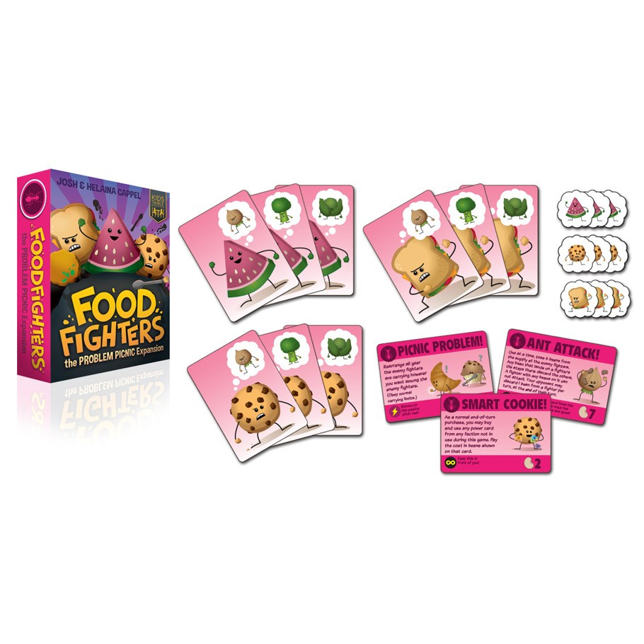 Food Fighters Problem Picnic Faction Expansion