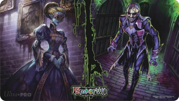 Force Of Will Halloween 2016 Limited Edition Play Mat