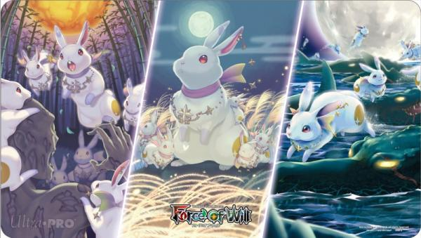 Force Of Will Playmat: Obon Festival Kaguyas Bunnies Tabbit Resonators (Limited Edition)