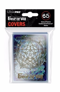 Force Of Will Printed Deck Protector Sleeve with Hymnal%27s Memoria Exclusive Promo Card
