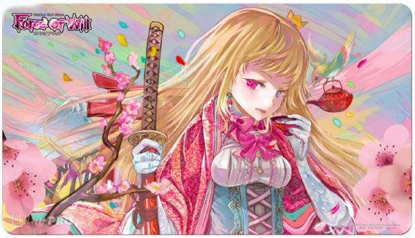 Force of Will Playmat: Hanami Limited Edition