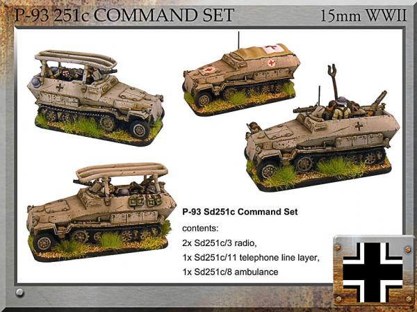 Forged in Battle: German: Sd251c Command Set