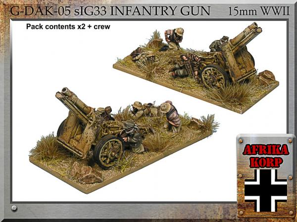 Forged in Battle: German: sIG33 Infantry Gun